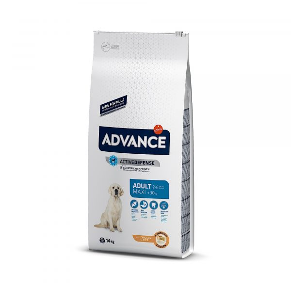 Advance Maxi Adult Chicken & Rice 14kg