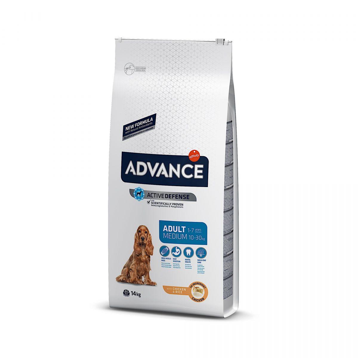 Advance Medium Adult Chicken & Rice 14kg