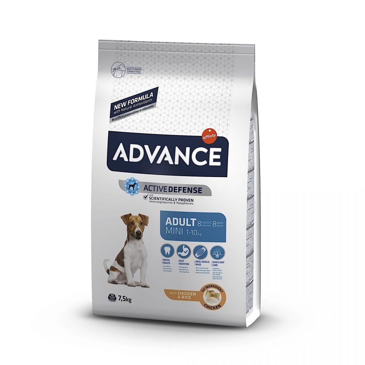 Advance Mini Adult Chicken & Rice 7.5kg