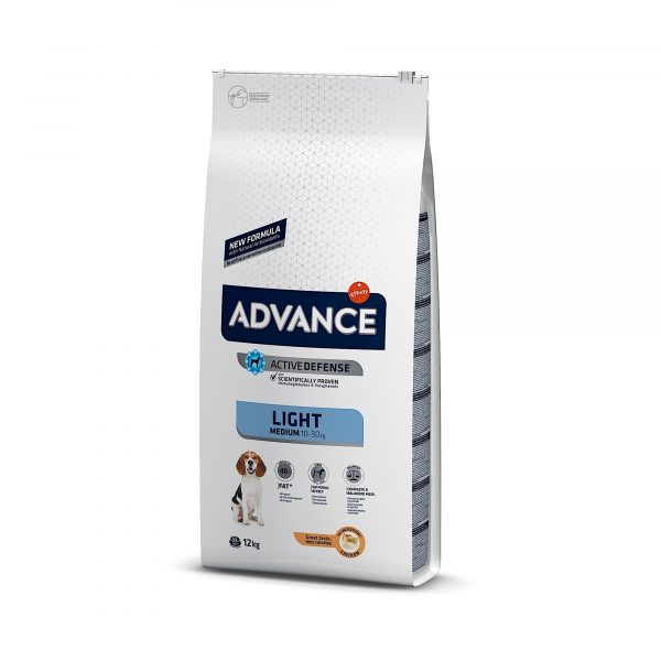 Advance Medium Light Chicken & Rice 12kg