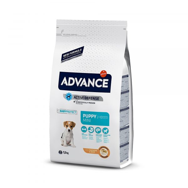 Advance Mini Puppy Chicken & Rice 1.5kg