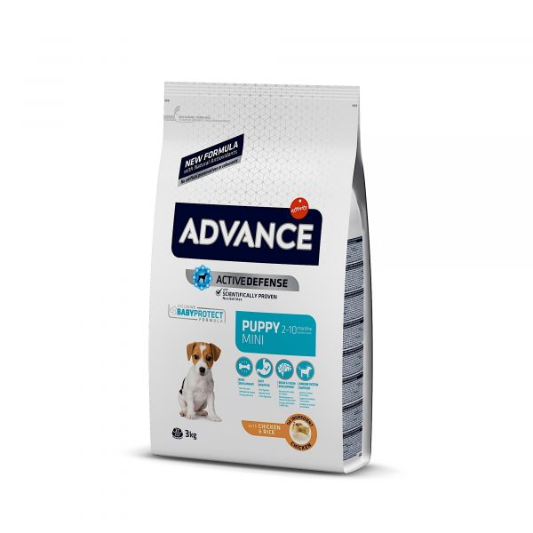 Advance Mini Puppy Chicken & Rice 3kg