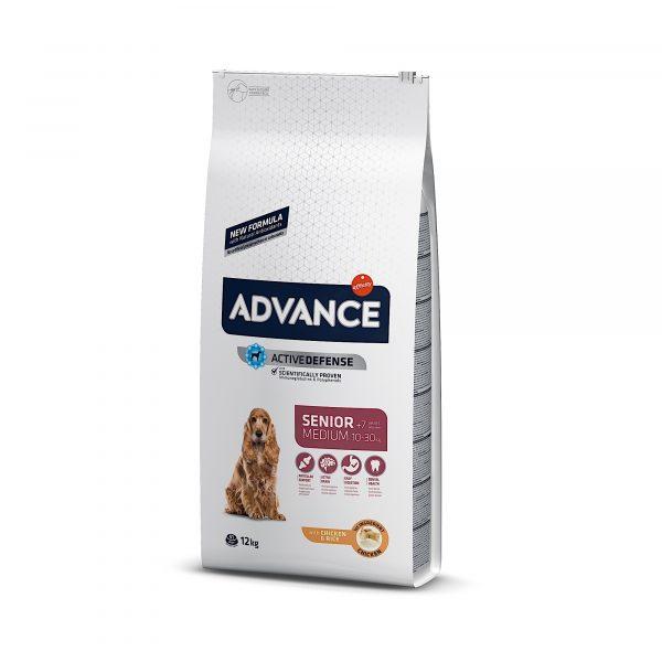 Advance Medium Senior Chicken & Rice 12kg