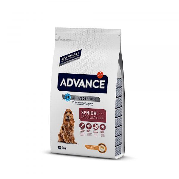 Advance Medium Senior Chicken & Rice 3kg