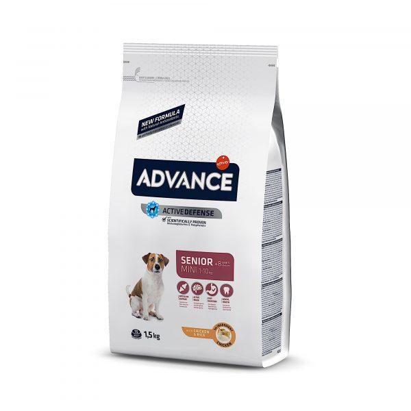 Advance Mini Senior Chicken & Rice 1.5kg