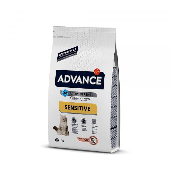 Advance Adulto Salmão 3kg