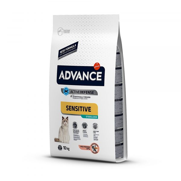 Advance Adulto Esterilizado Salmão 10kg