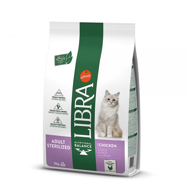 Libra Gato Esterilizado Frango 3kg