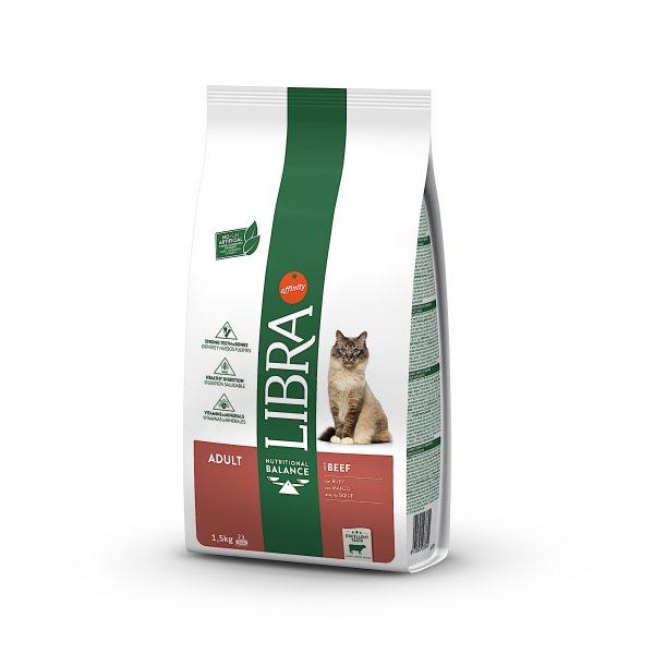 Libra Gato Adulto Vaca 1.5kg