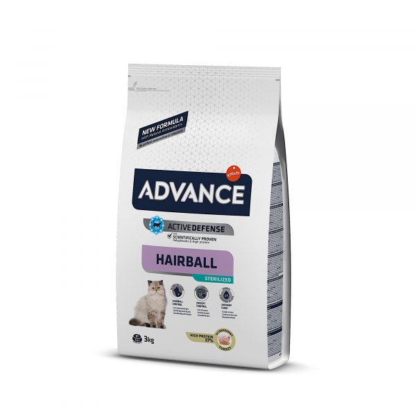 Advance Hairball Esterilizado 3kg