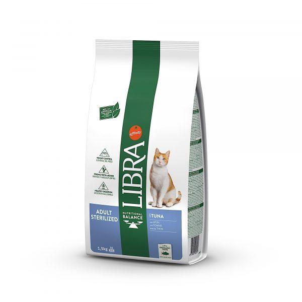 Libra Gato Esterilizado Atum 1.5kg