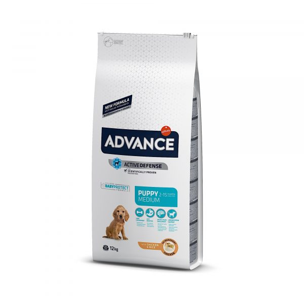 Advance Medium Puppy Chicken & Rice 12kg