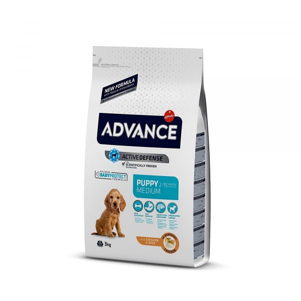 Advance Medium Puppy Chicken & Rice 3kg