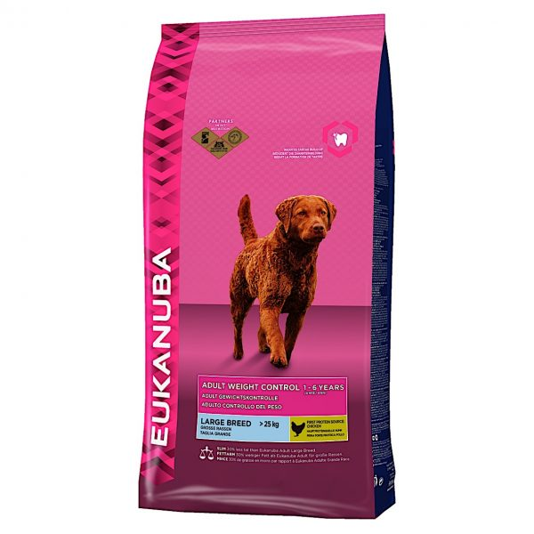 Eukanuba Adult Weight Control Large Breed 12kg-0