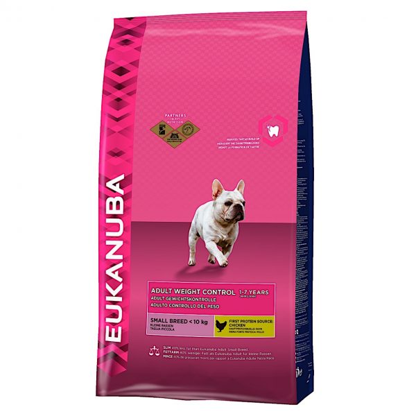 Eukanuba Adult Weight Control Small Breed 12kg-0