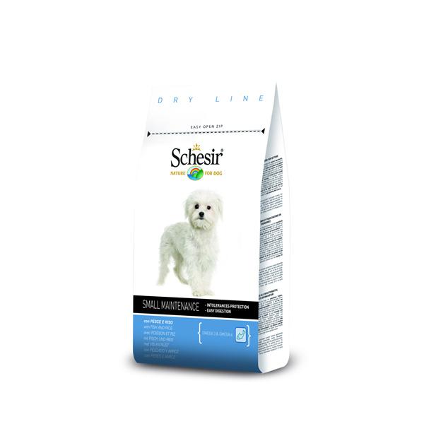 Schesir Small Adulto Peixe 800gr-0