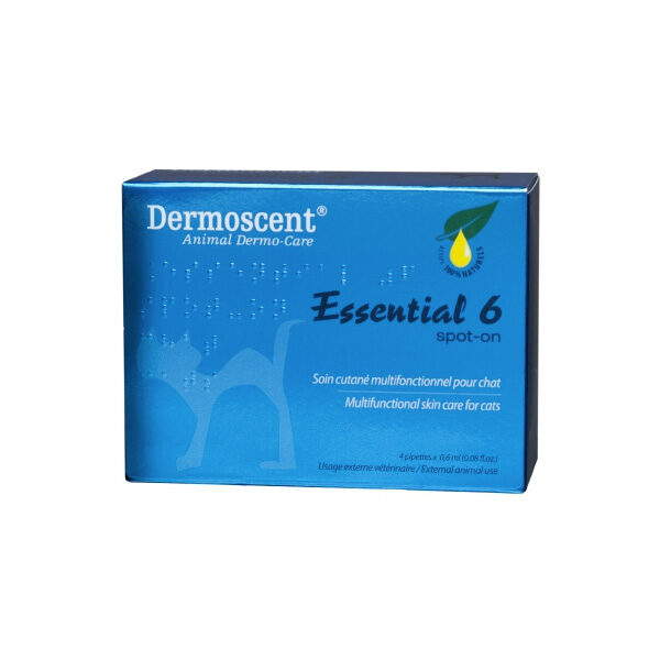 Dermoscent Essential 6 Spot-On Gato-0