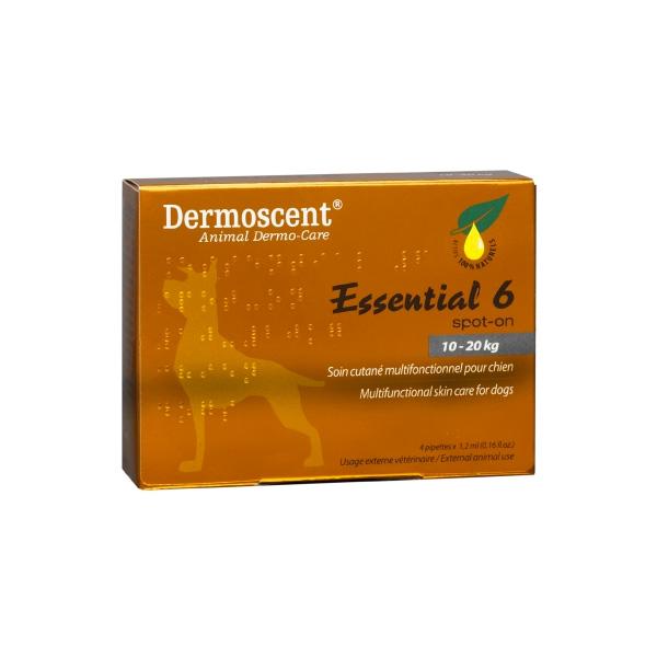 Dermoscent Essential 6 Spot-On Cães Médios-0