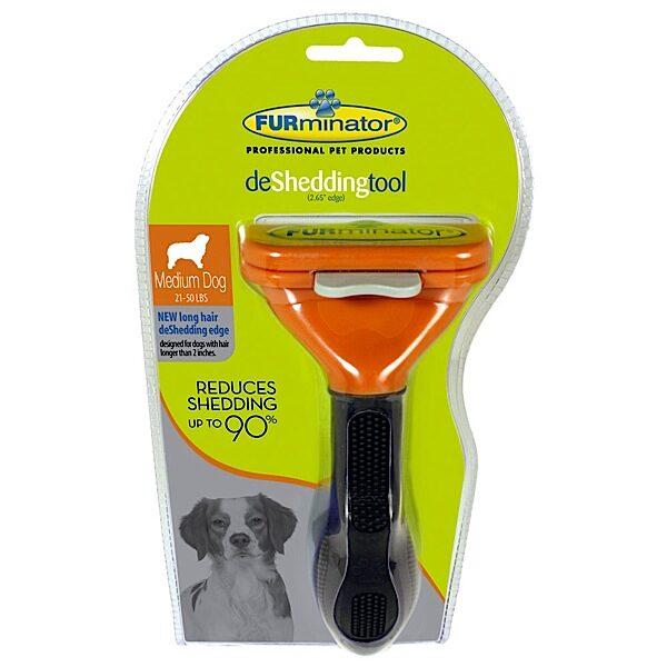 Escova Cães Médio Pelo Longo-0