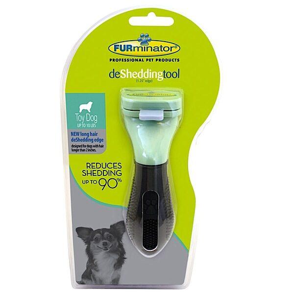Escova Cães Muito Pequenos Pelo Longo-0