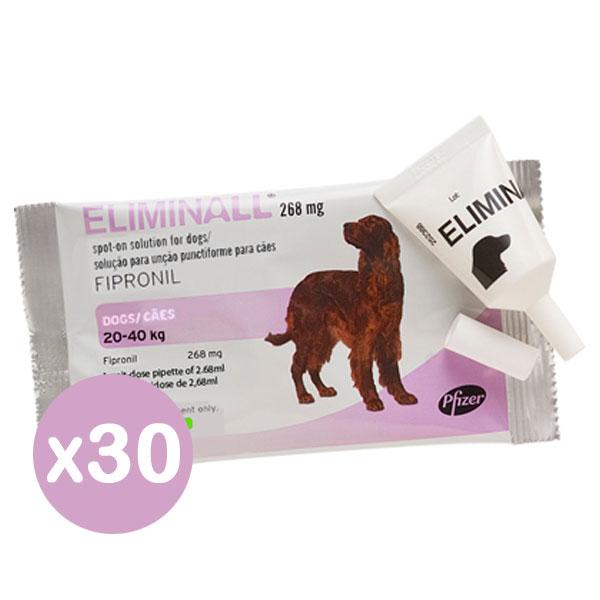 Eliminall 268 Cão Pack 30-0
