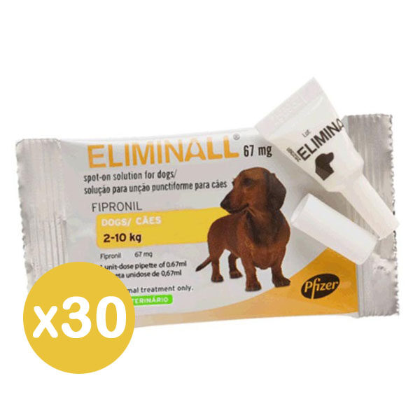 Eliminall 67 Cão Pack 30-0