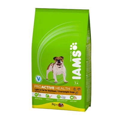 IAMS Overweight / Sterilized 3kg-0