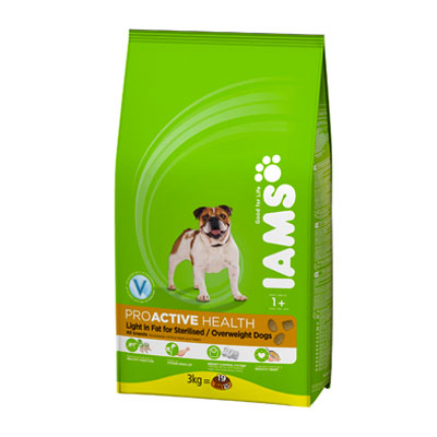 IAMS Overweight / Sterilized 12kg-0