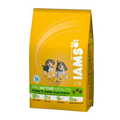 IAMS Puppy Small / Medium 12kg-0