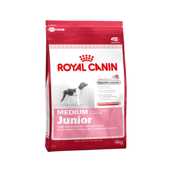 Royal Canin Medium Junior 4kg-0