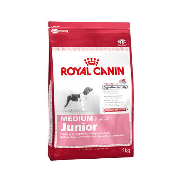 Royal Canin Medium Junior 4kg-0