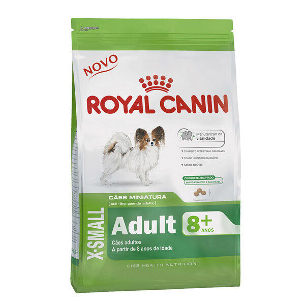 Royal Canin X-Small Adult 8+ 0.5kg-0