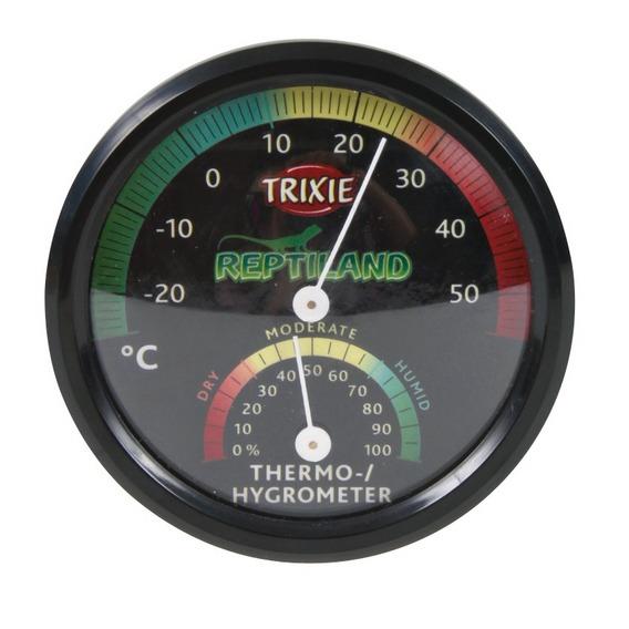 Termómetro/Higrómetro Analógico-0
