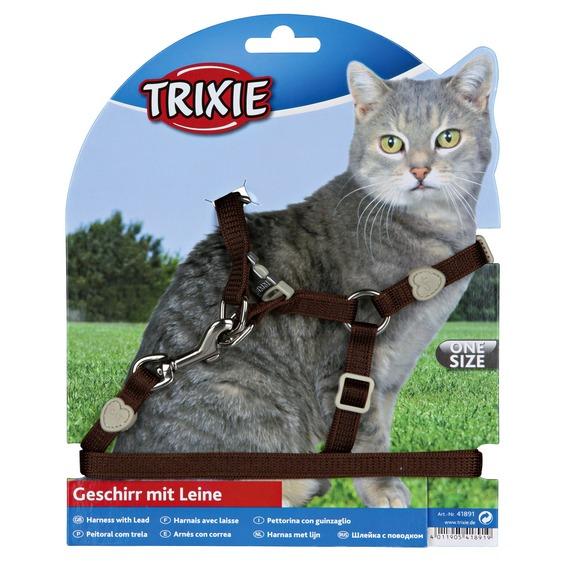 Trela e Peitoral para Gato-0