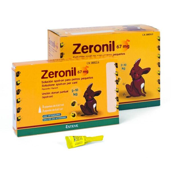 Zeronil para Cães Pequenos - 30pip-0