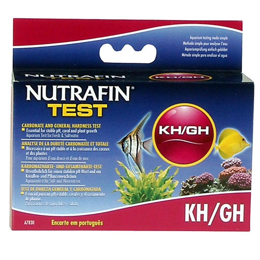 Teste KH/GH Dureza/Carbono/Total-0
