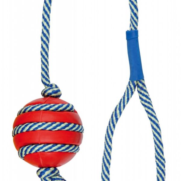 Bola com corda fluorescente-14551