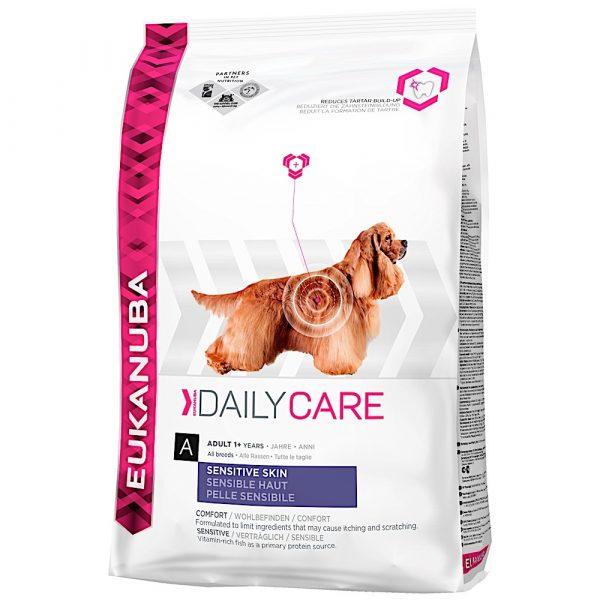 Eukanuba Daily Care Sensitive Skin 12.5kg-0