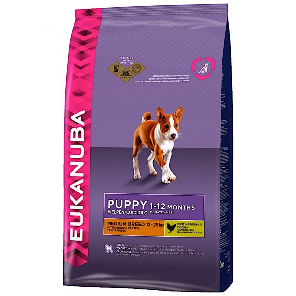 Eukanuba Puppy Medium Breed 12kg-0