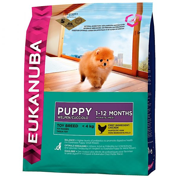 Eukanuba Puppy Toy Breed 0.8kg-0