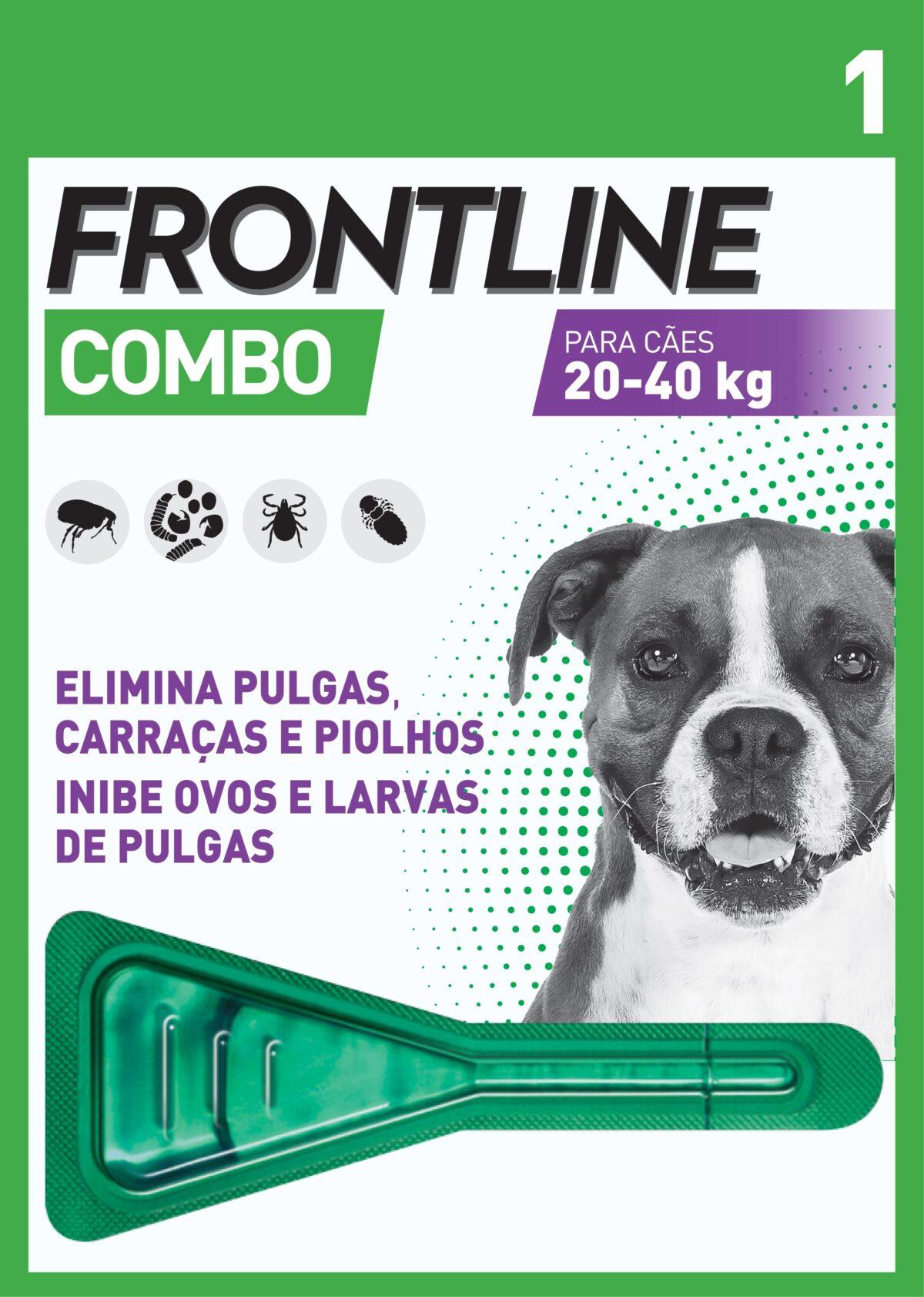 Frontline Combo Pipeta 20-40kg-0