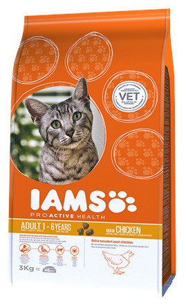 IAMS Adult Chicken 300gr-0