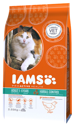IAMS Hairball Control 2.55kg-0