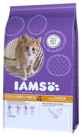 IAMS Kitten Chicken 300gr-0