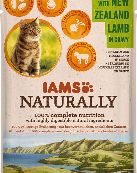 IAMS Naturally Adult Lamb 85gr-0