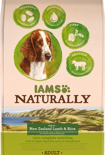 IAMS Naturally Adult Lamb 800gr-0