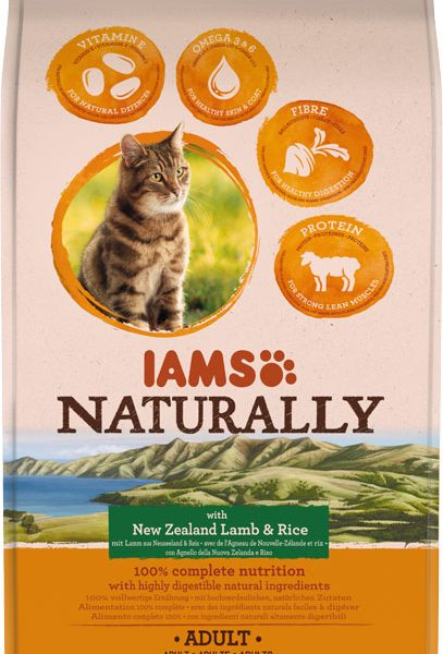 IAMS Naturally Adult Lamb 2.7kg-0