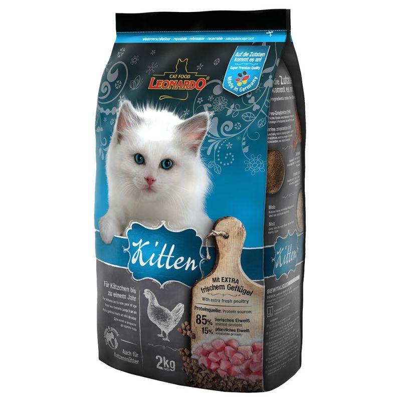 Leonardo Kitten Frango 2kg-0