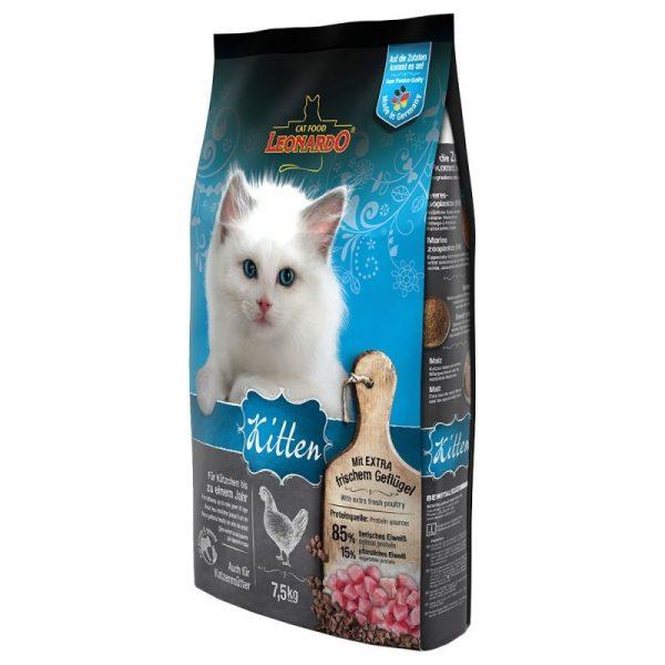 Leonardo Kitten Frango 7.5kg-0