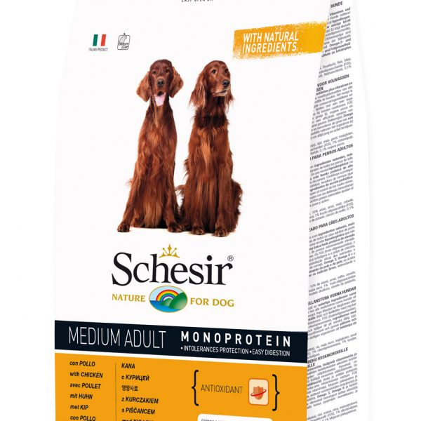 Schesir Medium Adulto Frango 12kg-0